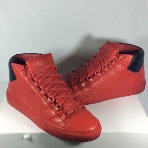 Balenciaga Arena Red Black Sneakers Men 40/ 7